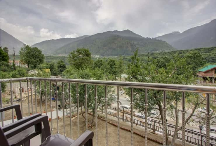 View from hotel in Himachal Pradesh Tour Package