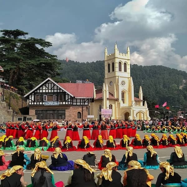 Christ Church In Shimla, SHIMLA - MANALI TOUR PACKAGES